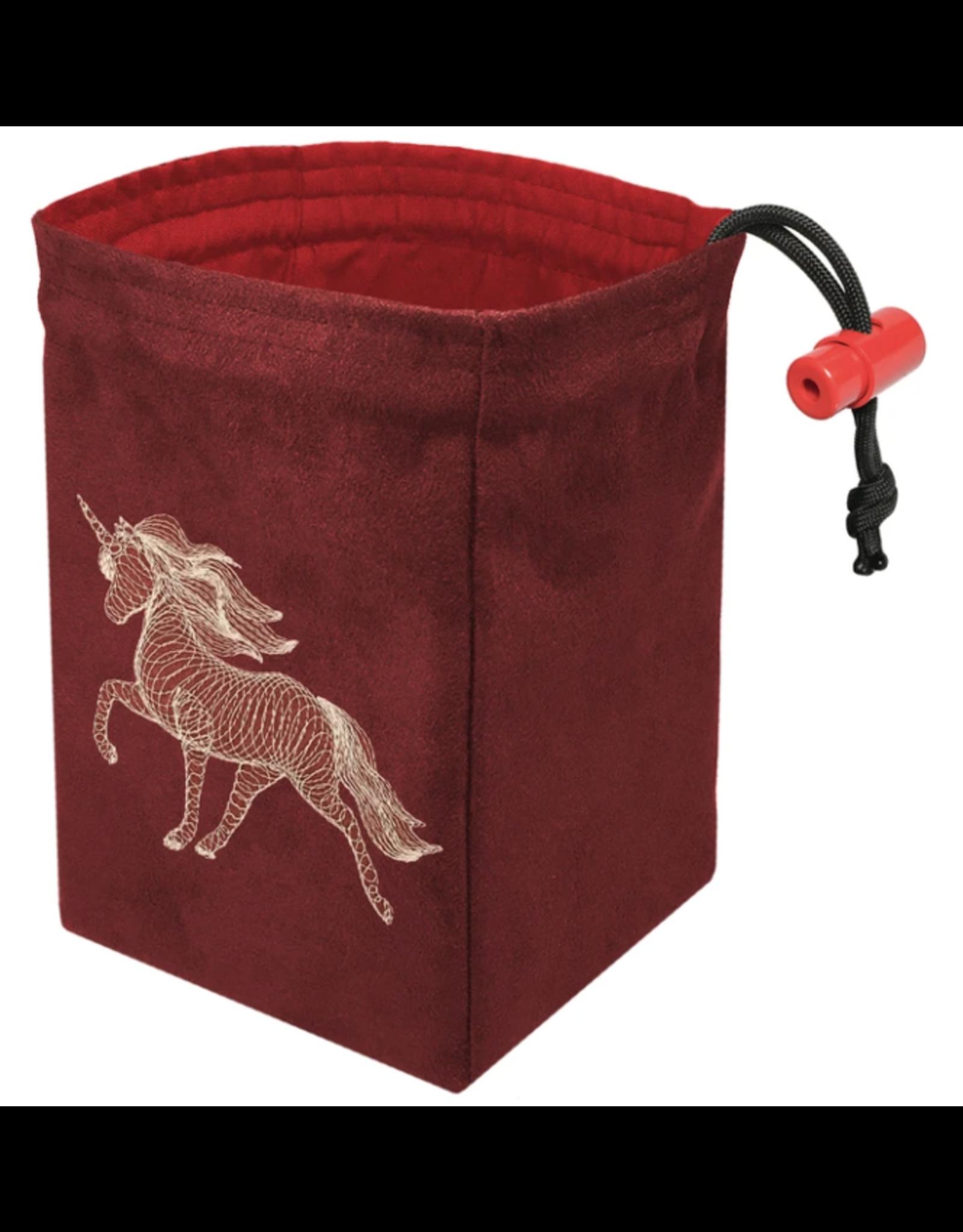 Dice Dimensional Unicorn Glow - Glow in the Dark Dice Bag