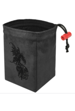 Dice Baroque Dark Fairy - Embroidered Dice Bag