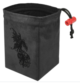 Baroque Dark Fairy - Embroidered Dice Bag