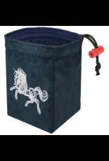 Baroque Unicorn - Embroidered Dice Bag