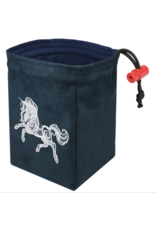 Dice Baroque Unicorn - Embroidered Dice Bag