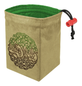 Dice Twisted Tree - Embroidered Dice Bag
