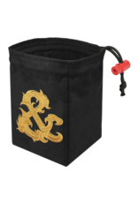 Dice Gilded Ampersand - Embroidered Dice Bag
