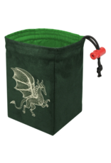 Dice Dimensional Dragon Glow - Glow in the Dark Dice Bag