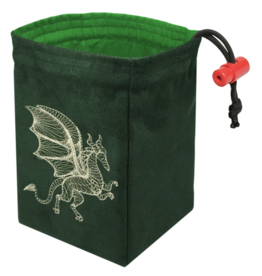 Dimensional Dragon Glow - Glow in the Dark Dice Bag
