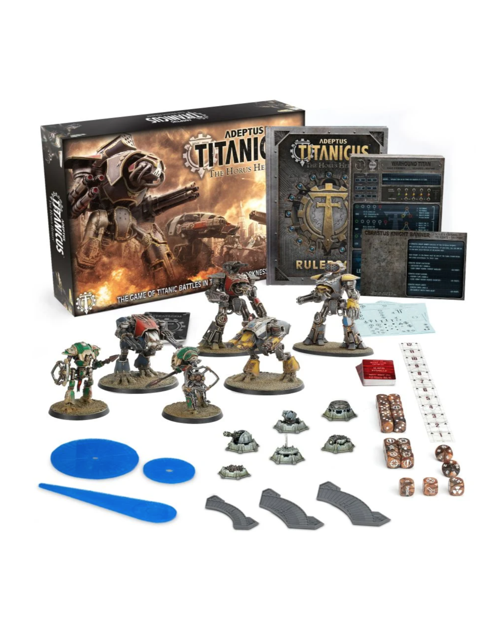 Warhammer 40K Adeptus Titanicus: The Horus Heresy Core Set