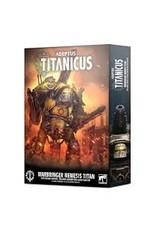 Warhammer 40K Adeptus Titanicus: Warbringer Nemesis Titan with Quake Cannon