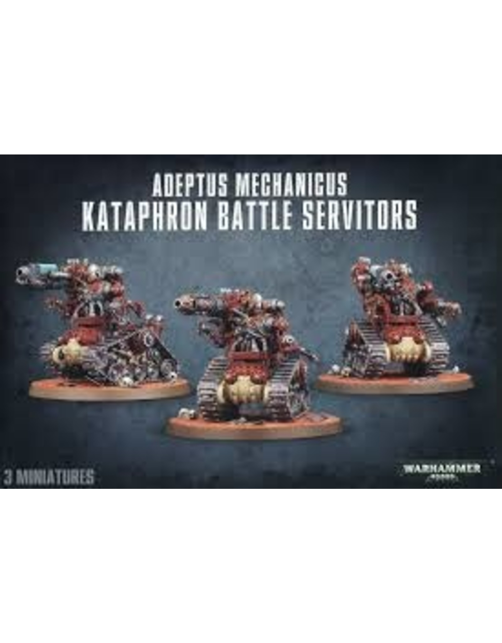 Warhammer 40K Adeptus Mechanicus Kataphron Battle Servitors