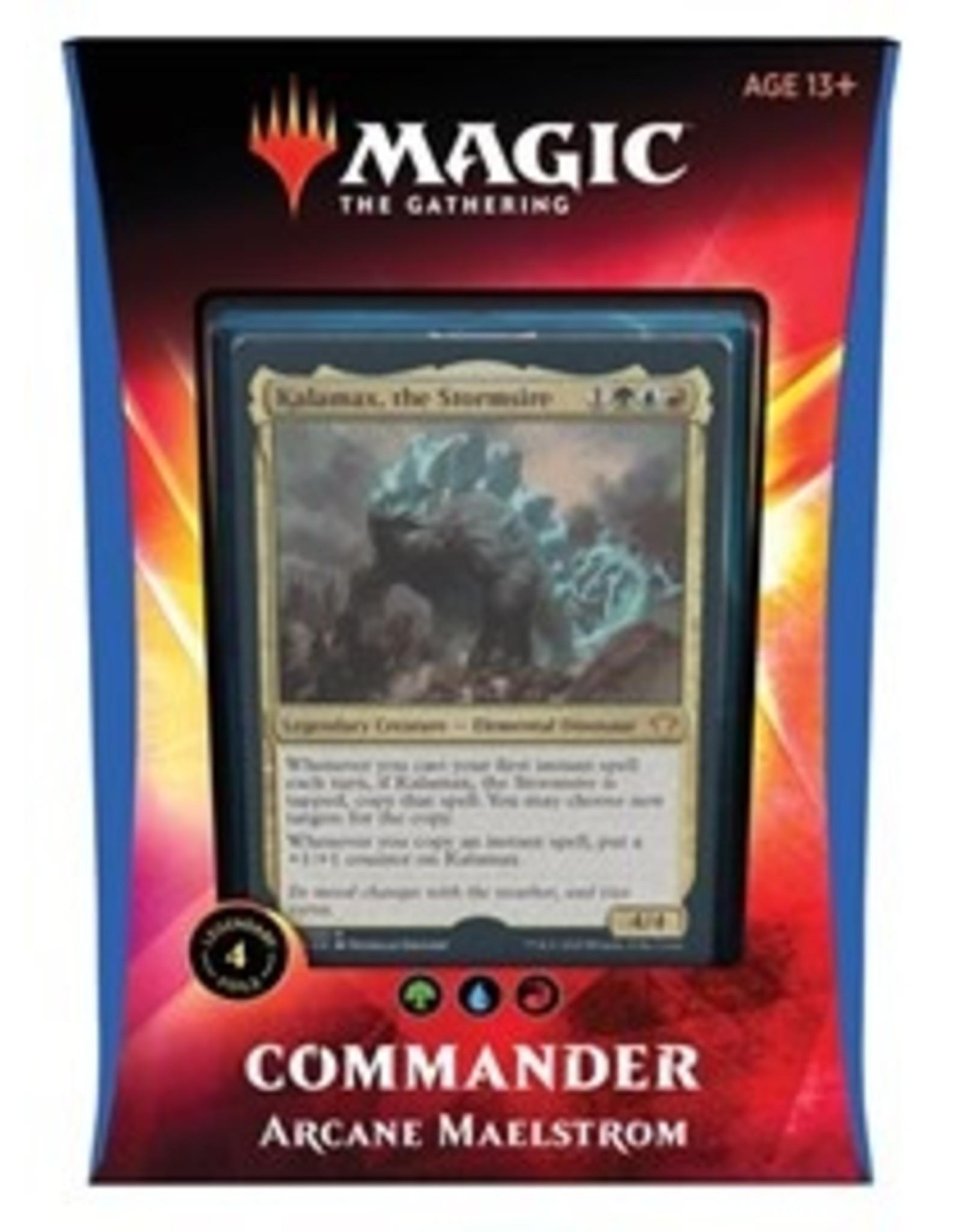 Magic Ikoria: Commander: Arcane Maelstrom [Kalamax, the Stormsire]