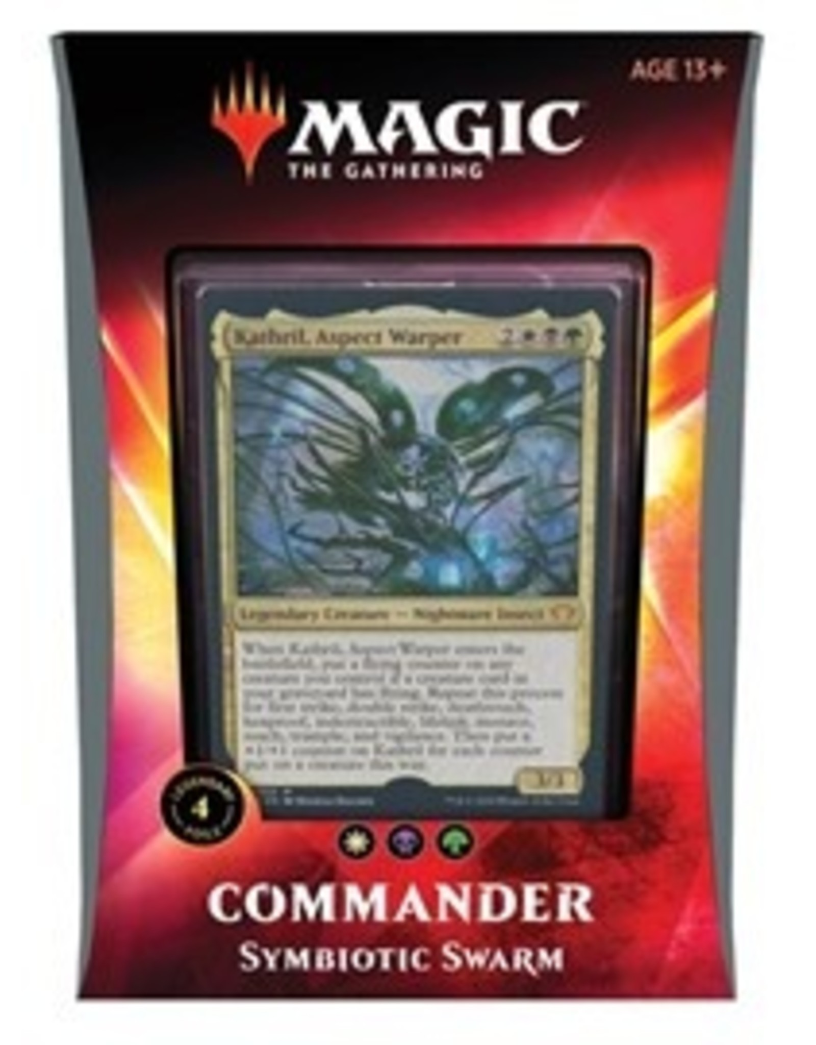 Magic Ikoria: Commander: Symbiotic Swarm [Kathril, Aspect Warper]