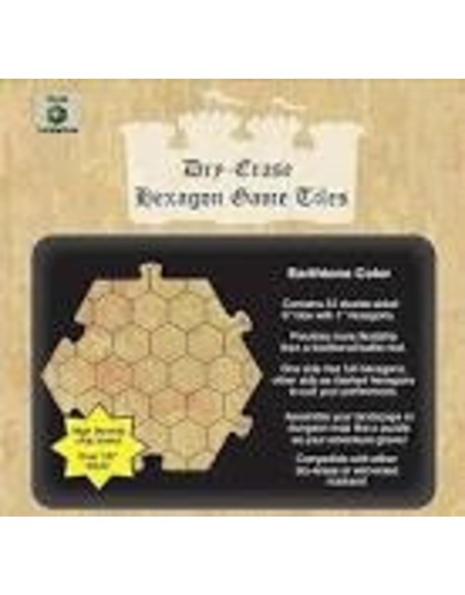 Dice Dungeon Tiles: Earthtone 6 Hex (33)