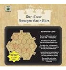 Dice Dungeon Tiles: Earthtone 6 Hex (33)