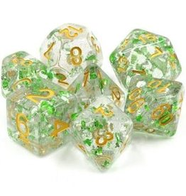 Dice 7-set Evergreen Sparkle CLGRgd