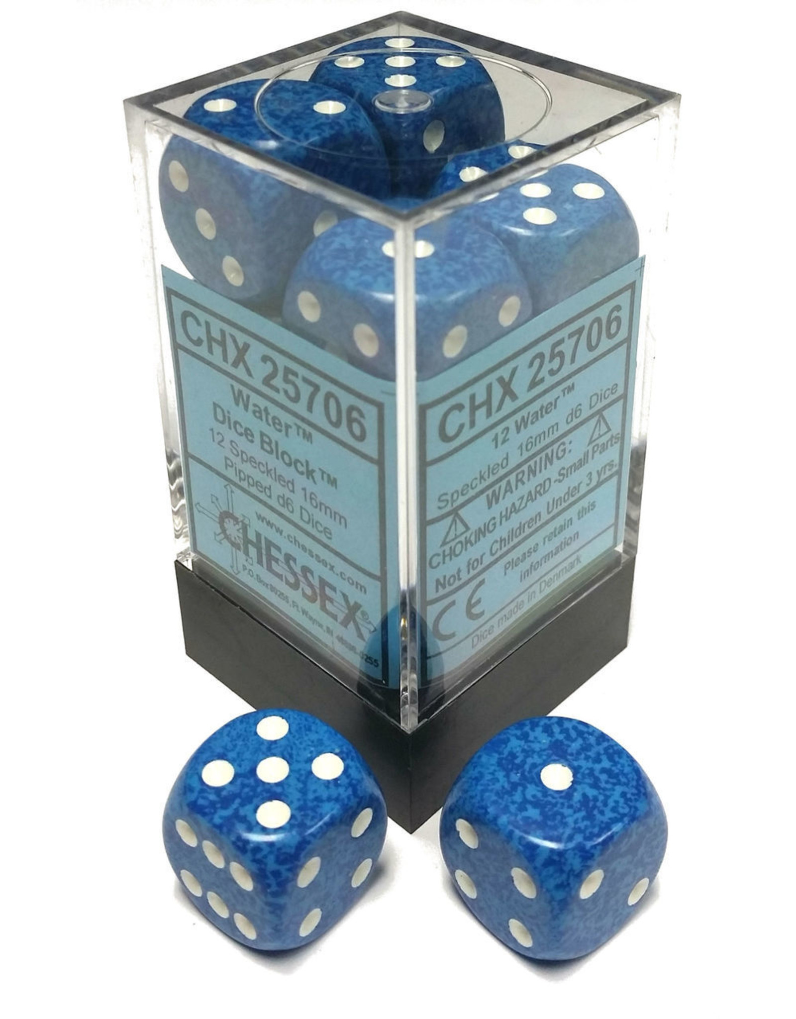 Chessex Water D6
