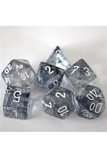 Chessex 7-Set Polyhedral Nebula Black/White