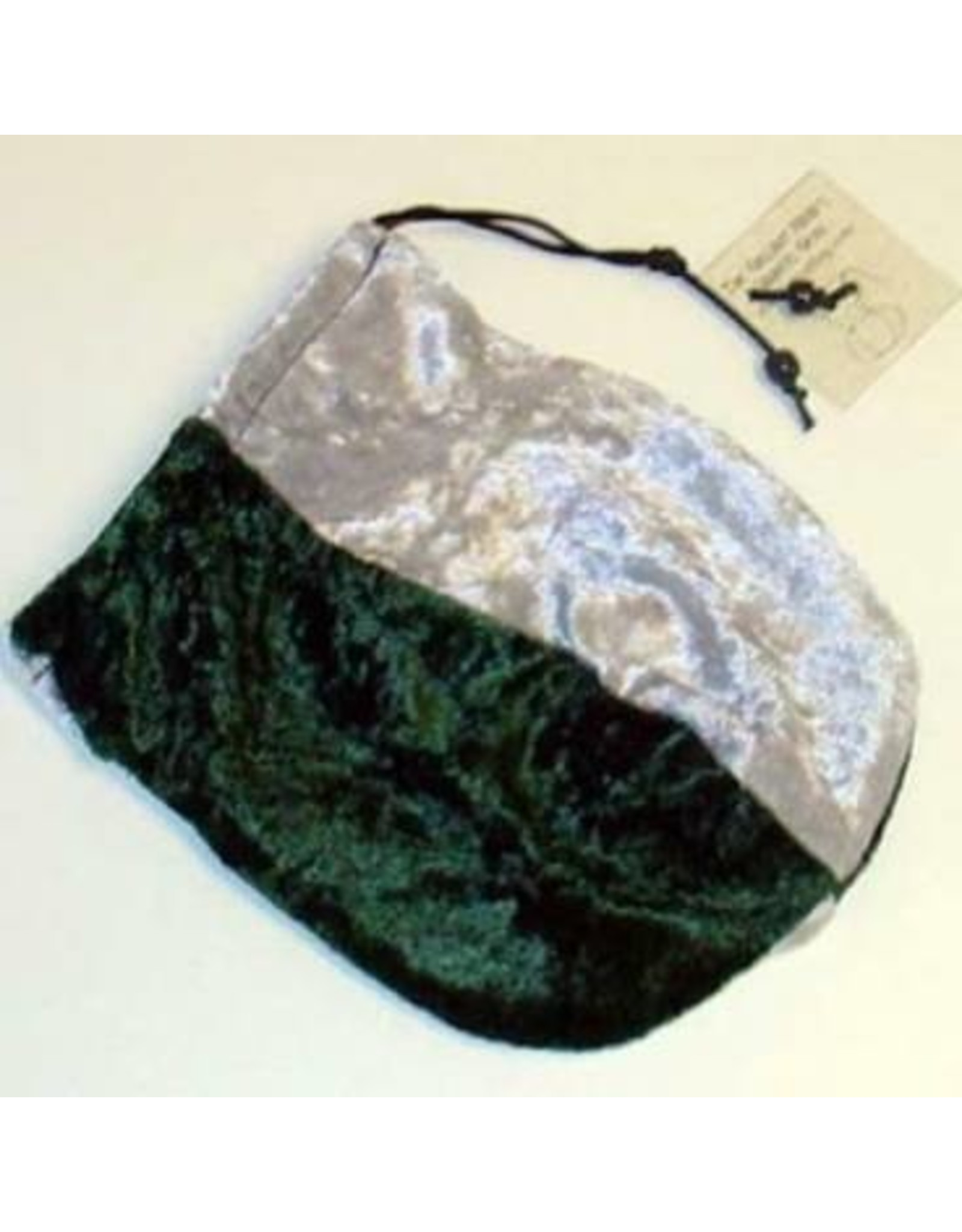 Dice Dice Bag Silver & Forest