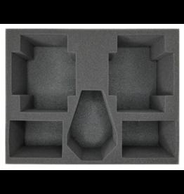 Battlefoam (Space Marines) 2 Land Raider 1 Drop Pod 4 Rhino Foam Tray (SM05BFL-4)