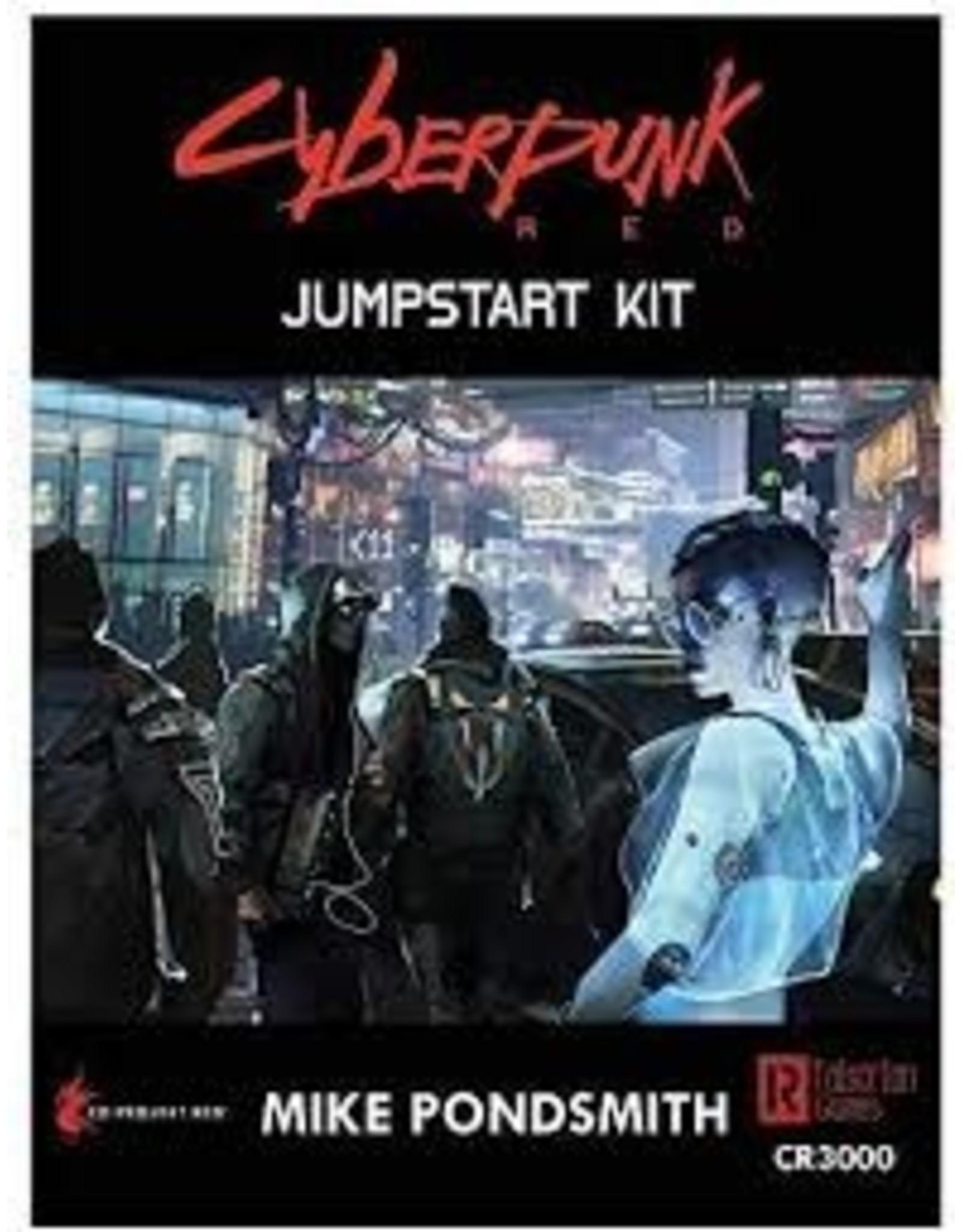 Role Playing Cyberpunk Red Jumpstart Kit