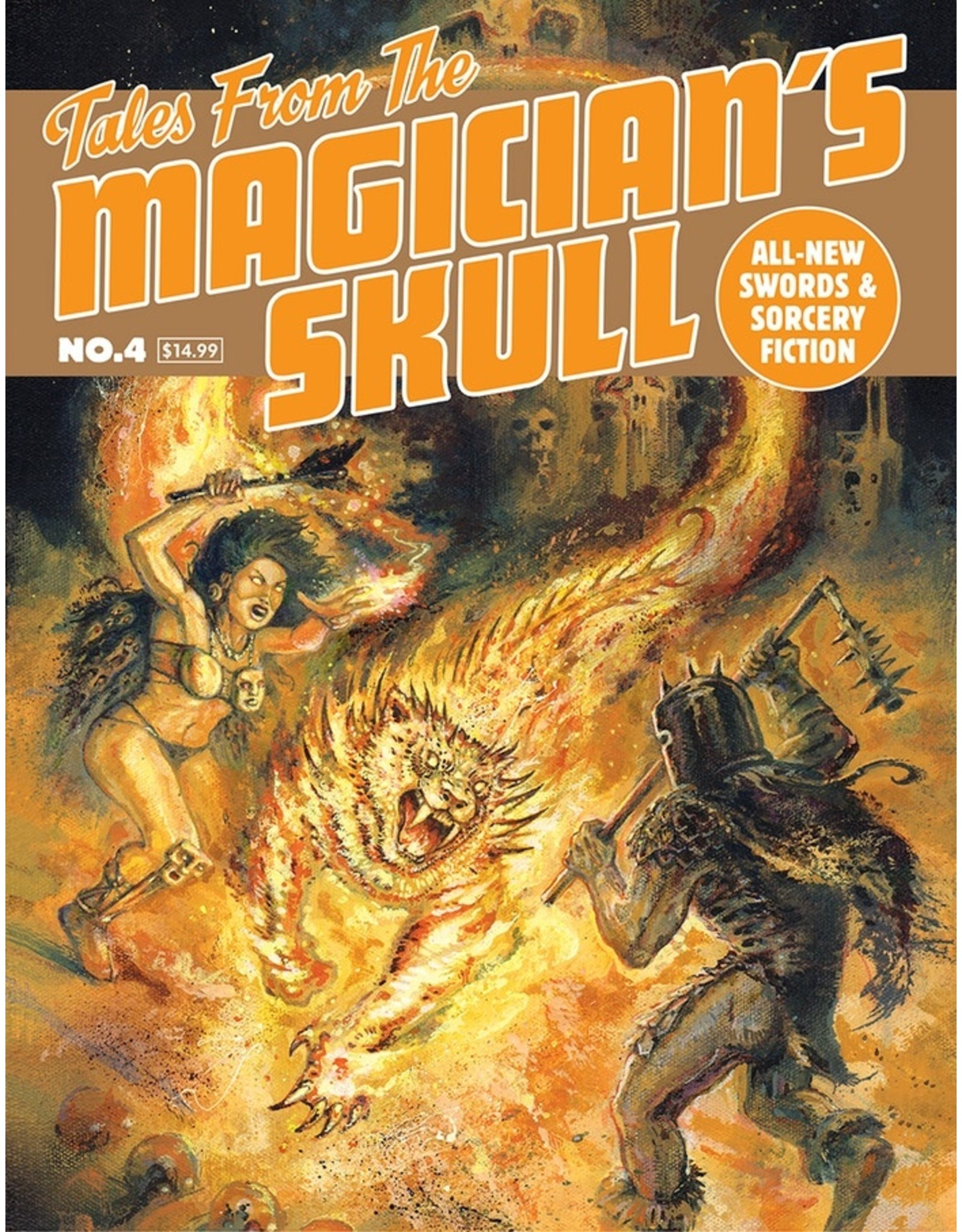 Role Playing Tales from the Magician's Skull #4