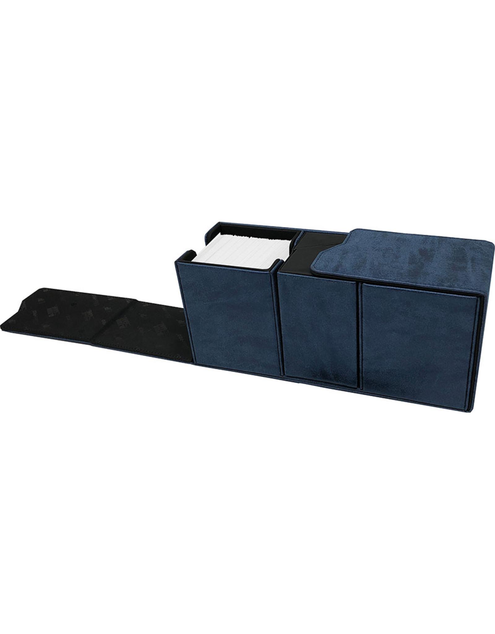 Ultra Pro Deck Box: Alcove Vault: Suede: Jet