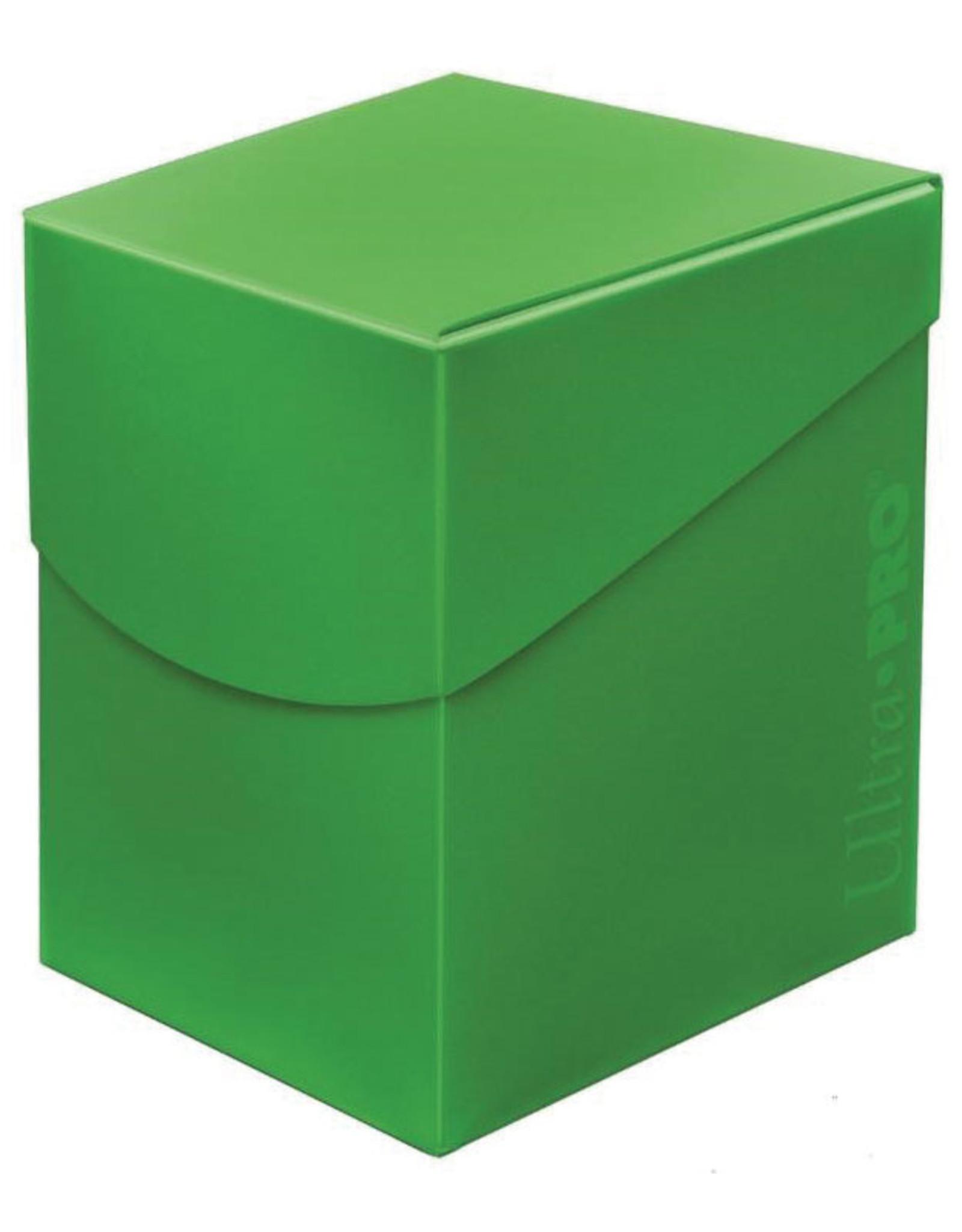 Ultra Pro Deck Box: PRO 100+: Eclipse: Lime GR