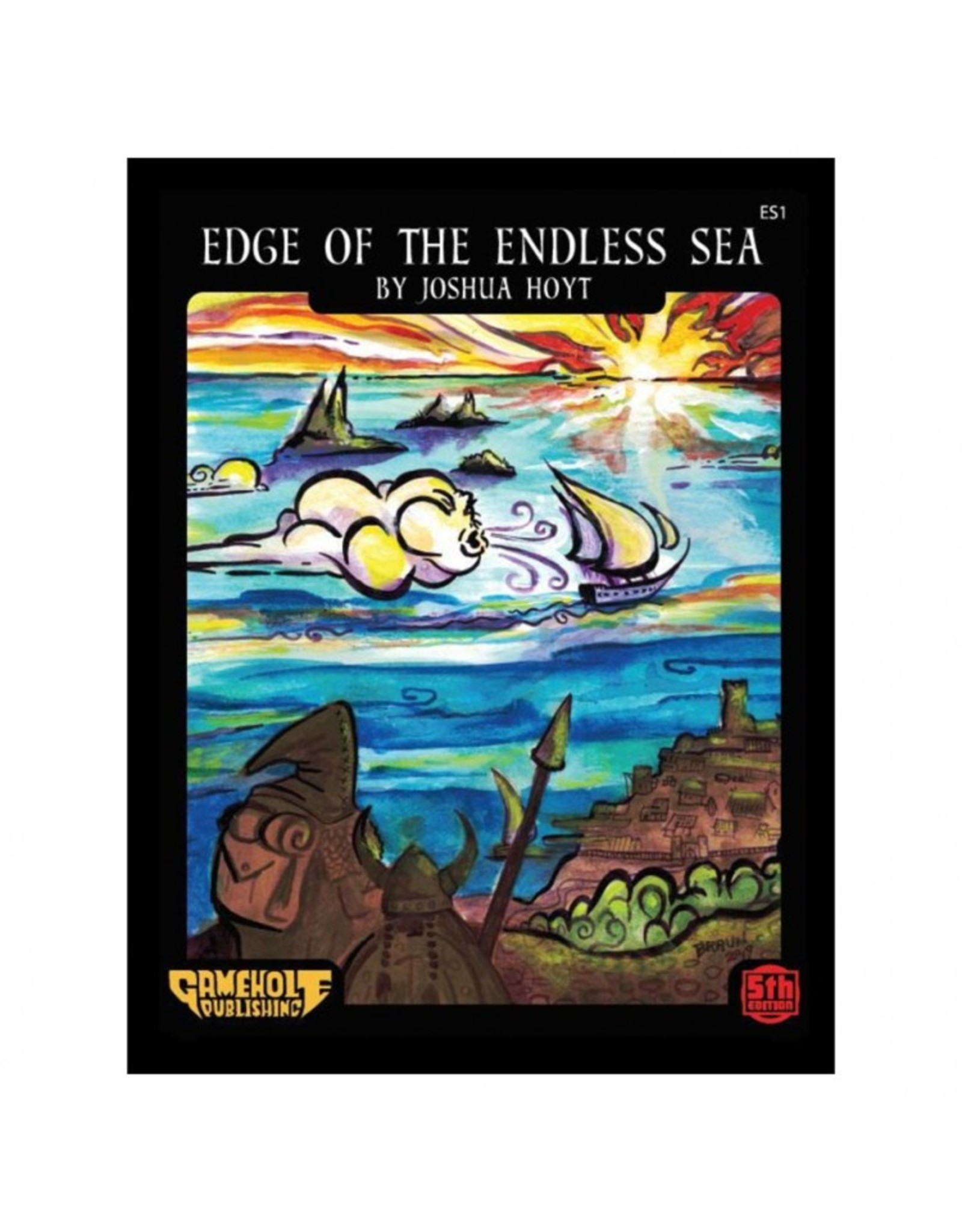 Role Playing 5E: Adv: Edge of the Endless Sea