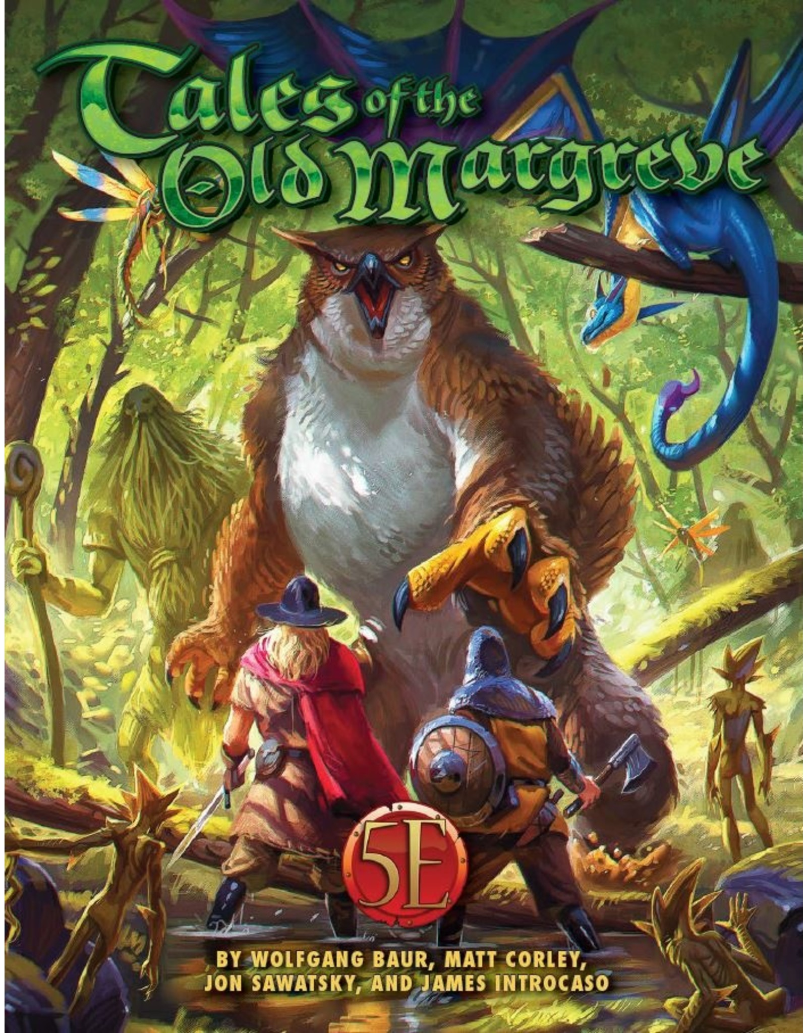 Kobold Press 5th Edition: Tales of the Old Margreve (HC)