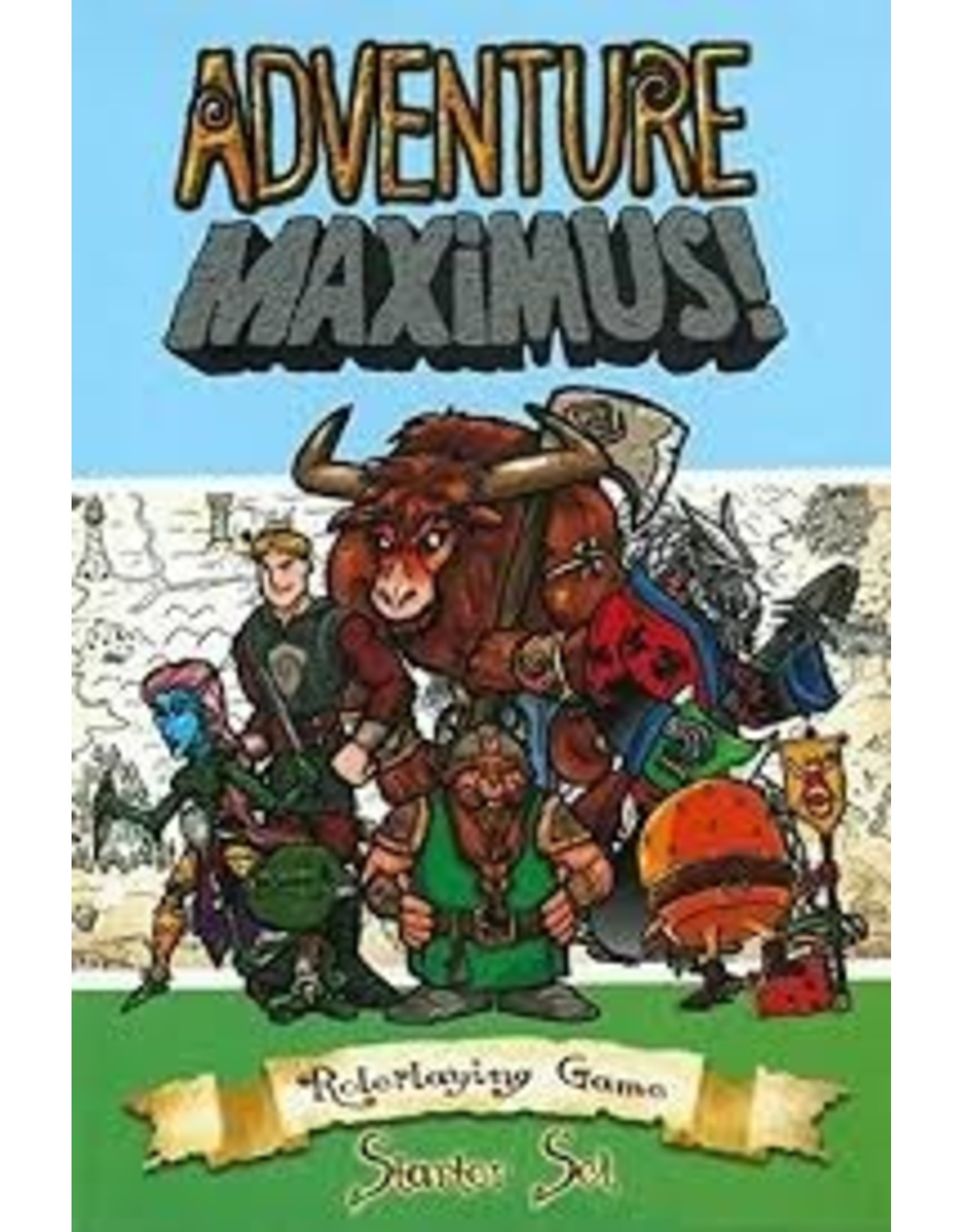 Role Playing Adventure Maximus RPG: Core Rules