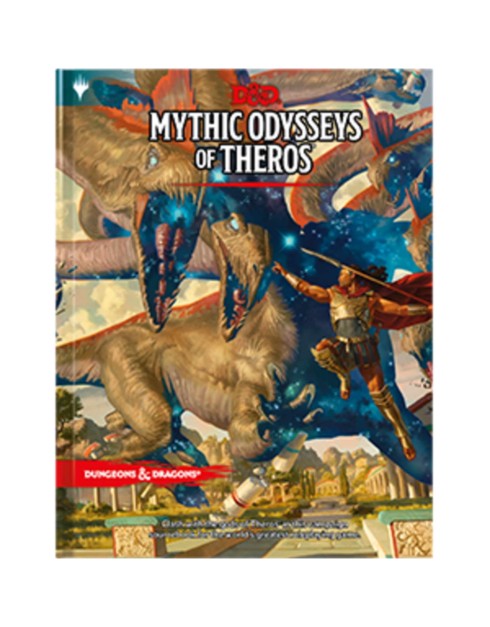 Dungeons & Dragons D&D 5E: Mythic Odysseys of Theros - Standard Cover