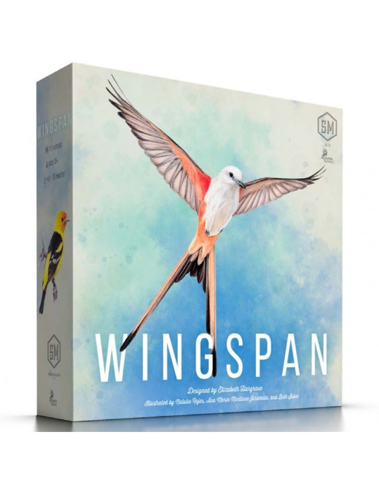 Stonemaier Games Wingspan 2nd Edition
