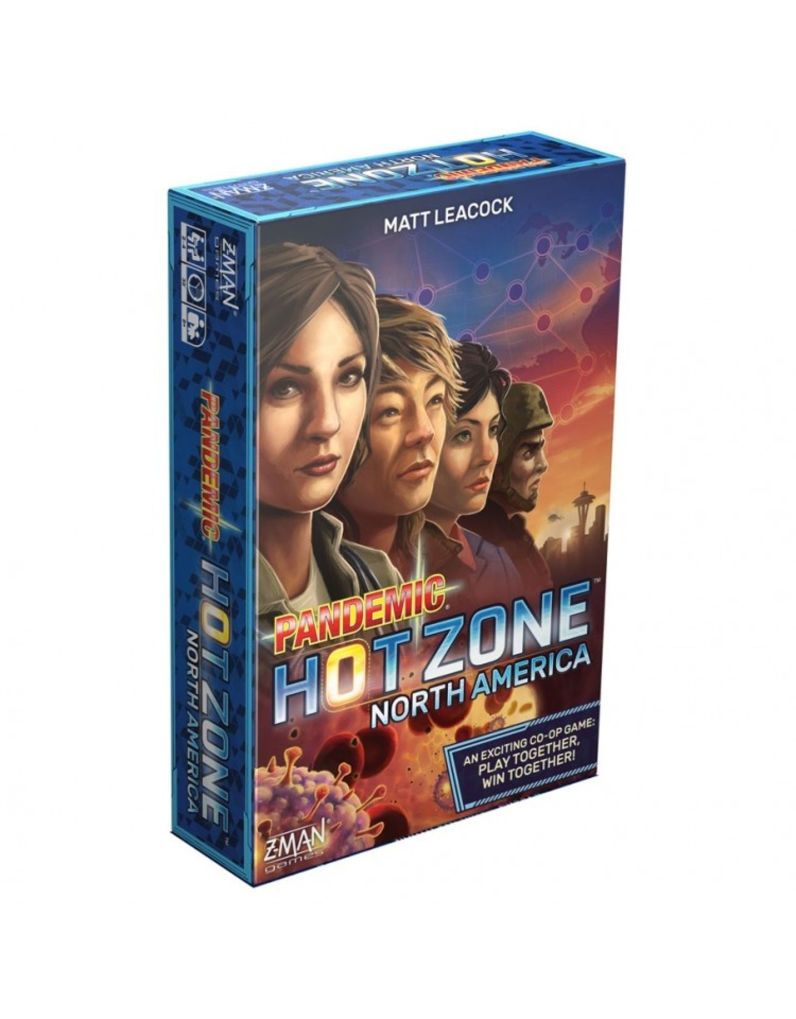 Z-Man Games Pandemic: Hot Zone - North America (stand alone)