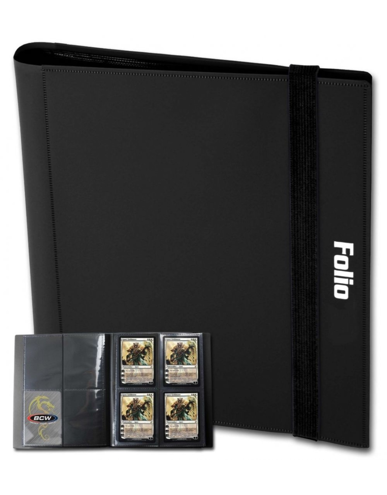 BCD Binder: Pro-Folio 4pkt: BK