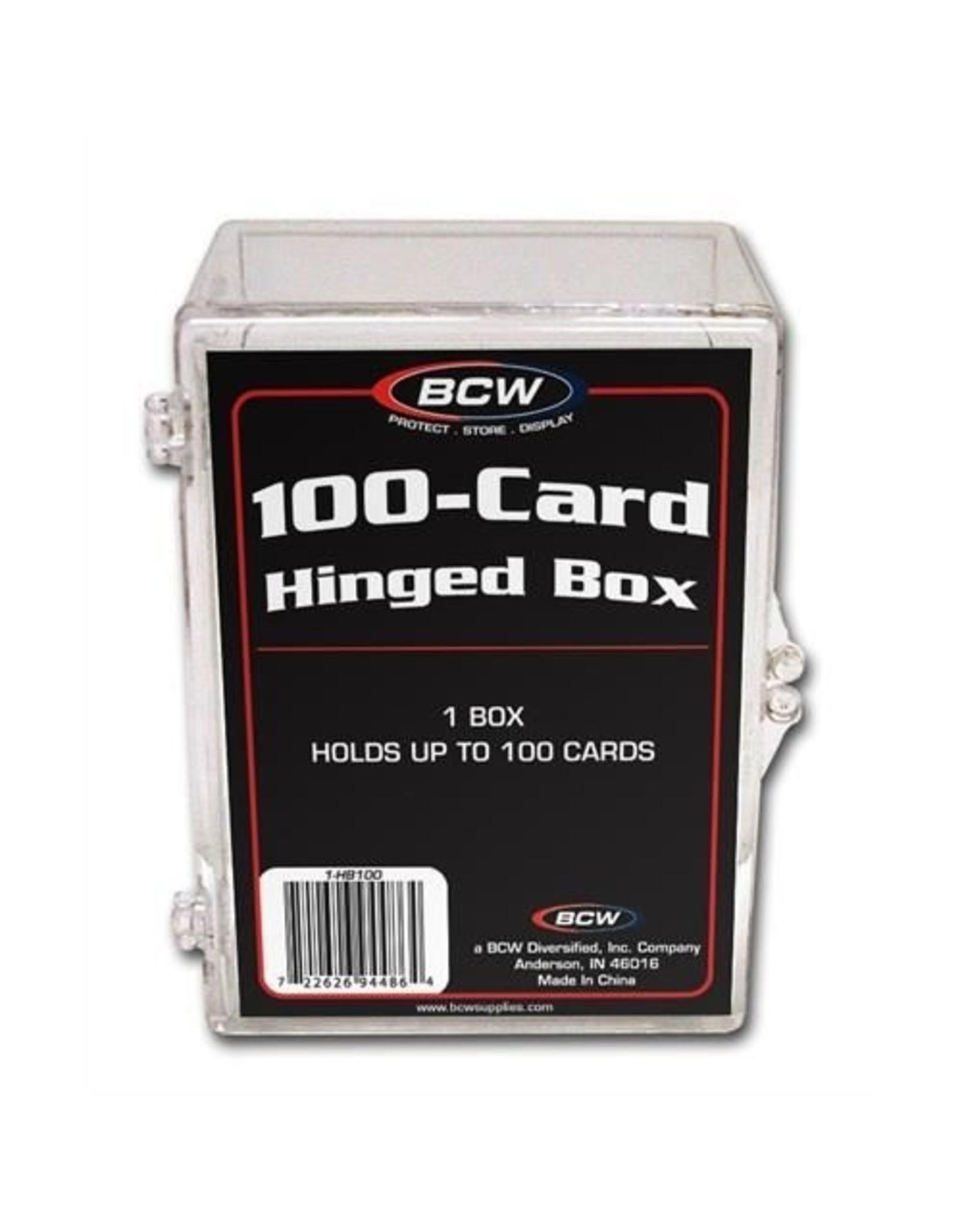 Ultra Pro Box: Hinged 100 CL