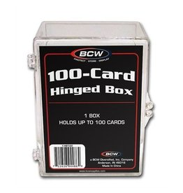 Ultra Pro Box: Hinged 100 CL