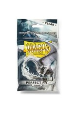 Dragon Shield: (100) Perfect Fit: Clear