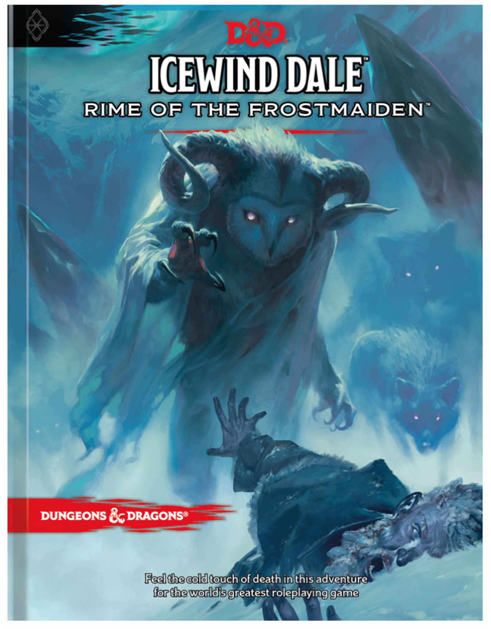 Dungeons & Dragons D&D 5E: Icewind Dale: Rime of the Frostmaiden (Standard Cover)