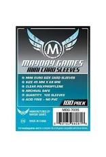 Mayday Games Mini Euro Card Sleeves (100)