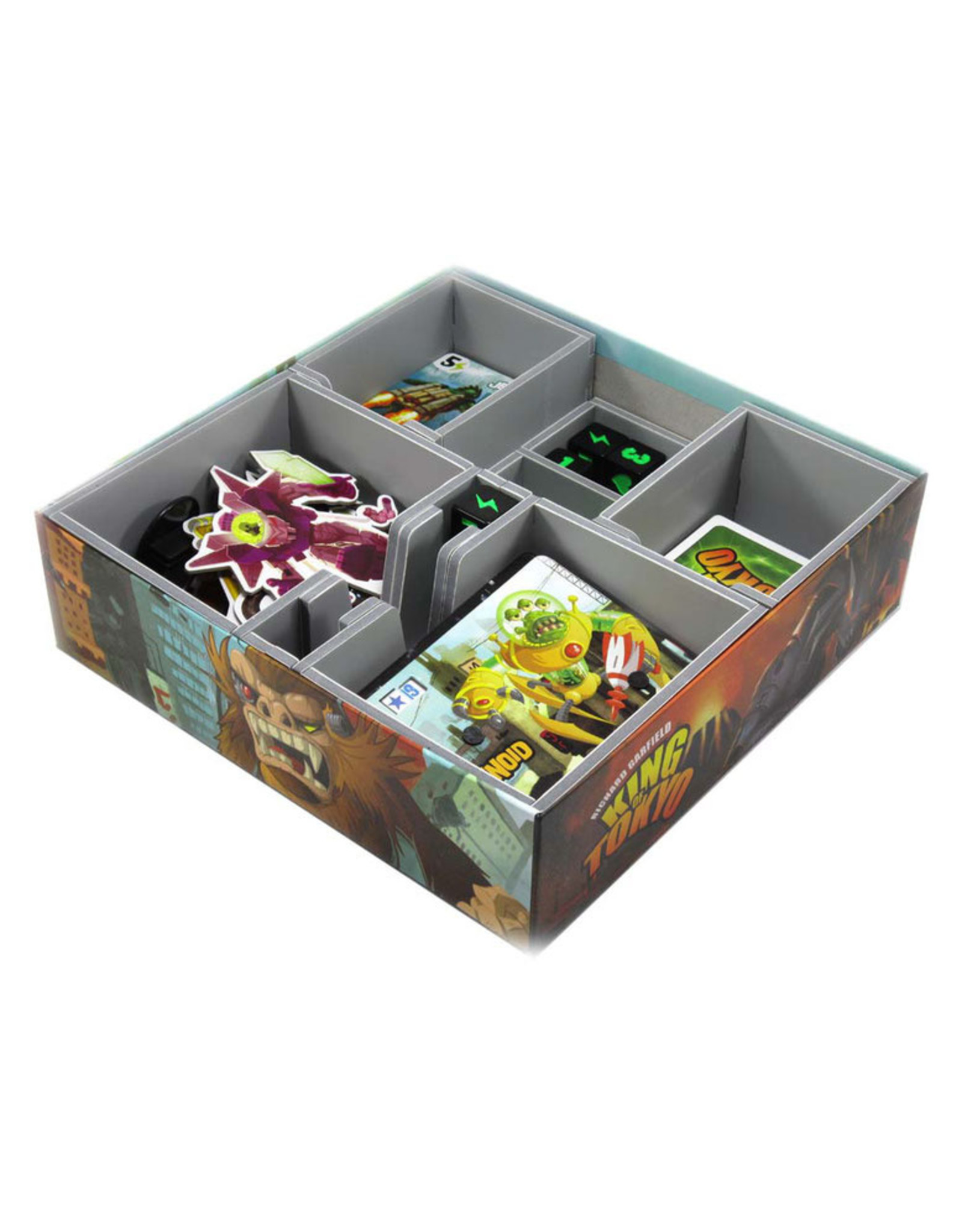 Folded Space Box Insert: King of Tokyo & Exps