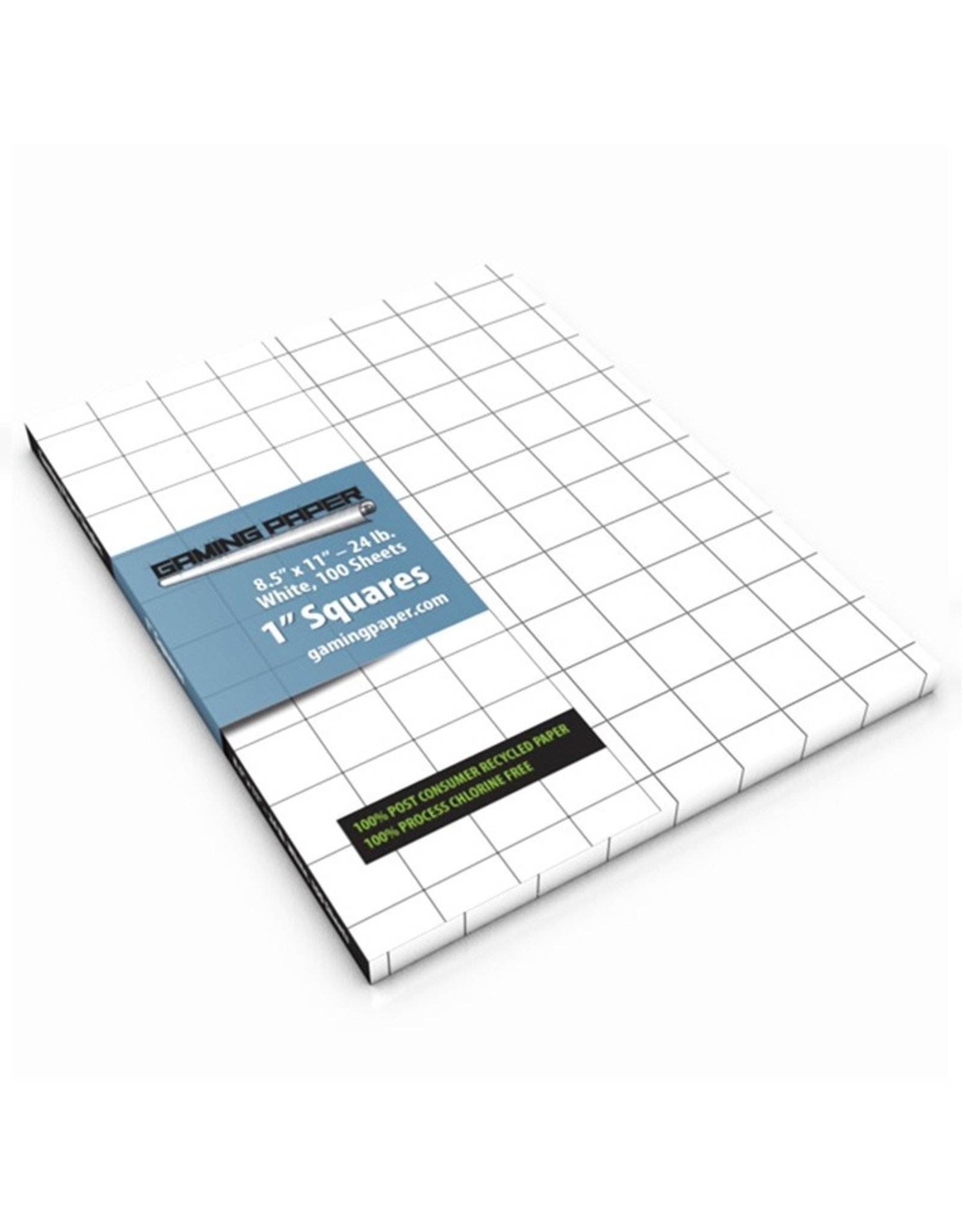 """Role Playing Gaming Paper: Singles: WH 1"""" Square (100)"""