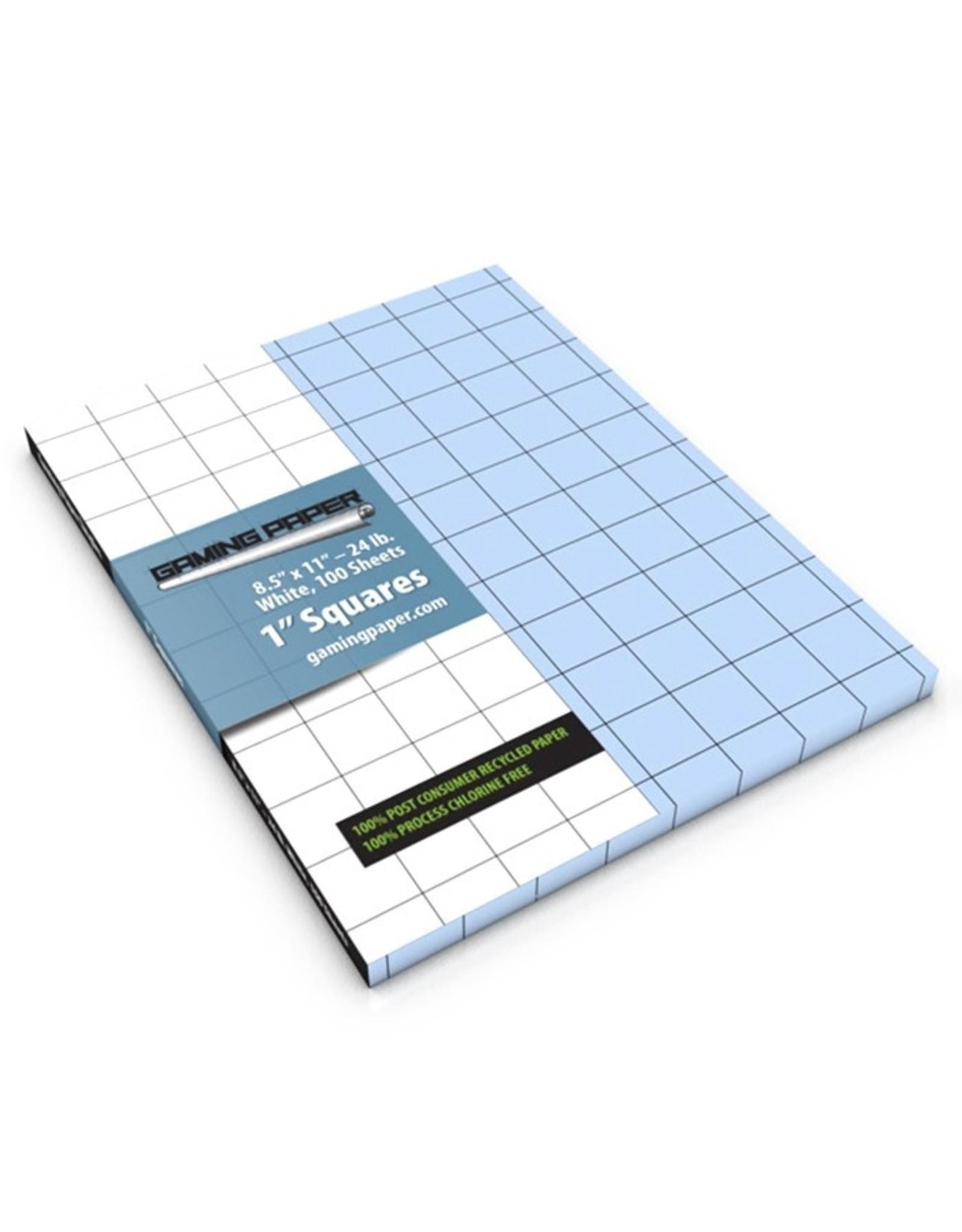 "Gaming Paper: Singles: BU 1"" Square (100)"
