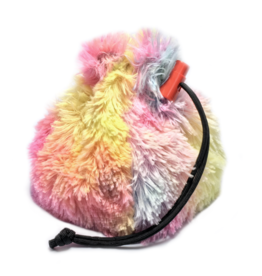 Dice Rainbow Unicorn Mane Dice Bag