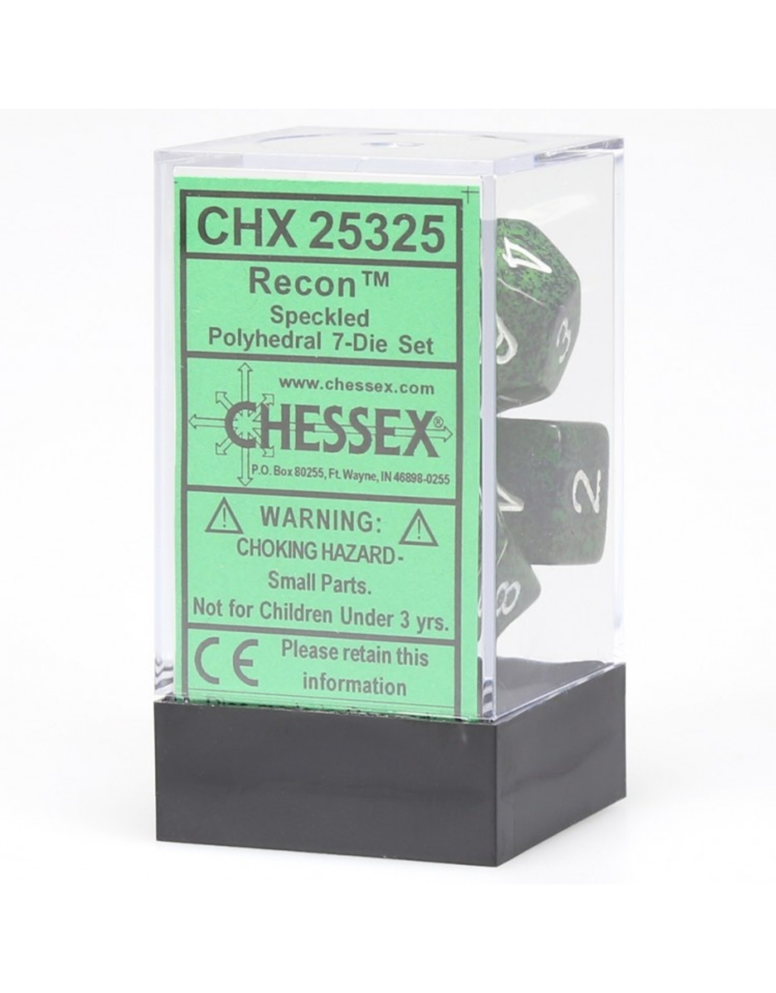 Chessex 7-Set Polyhedral CubeSP Recon