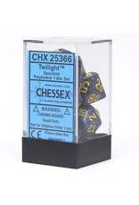 Chessex 7-Set Polyhedral Twilight Speckled