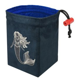 Dimensional Mermaid Glow - Glow in the Dark Dice Bag