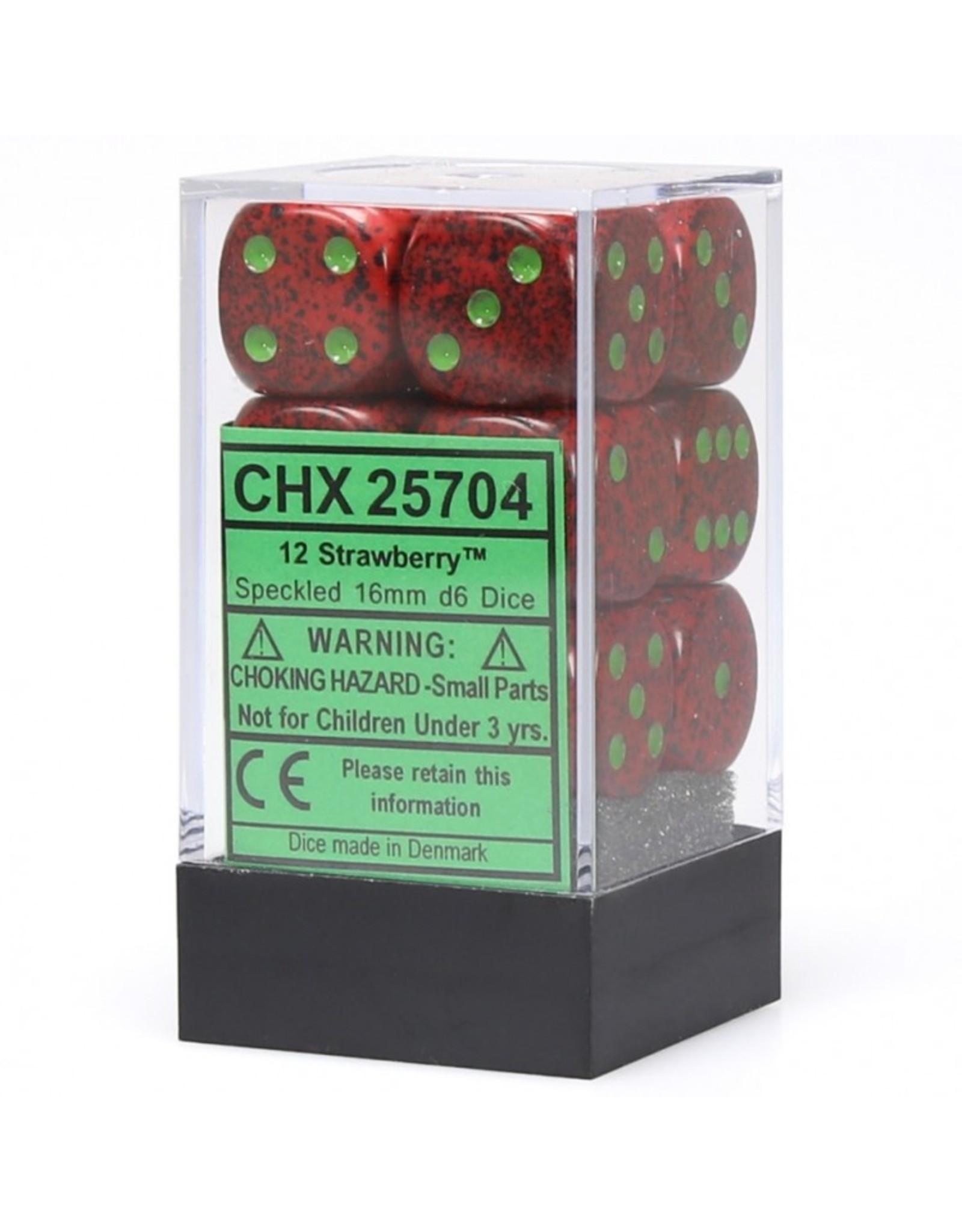 Chessex Strawberry D6