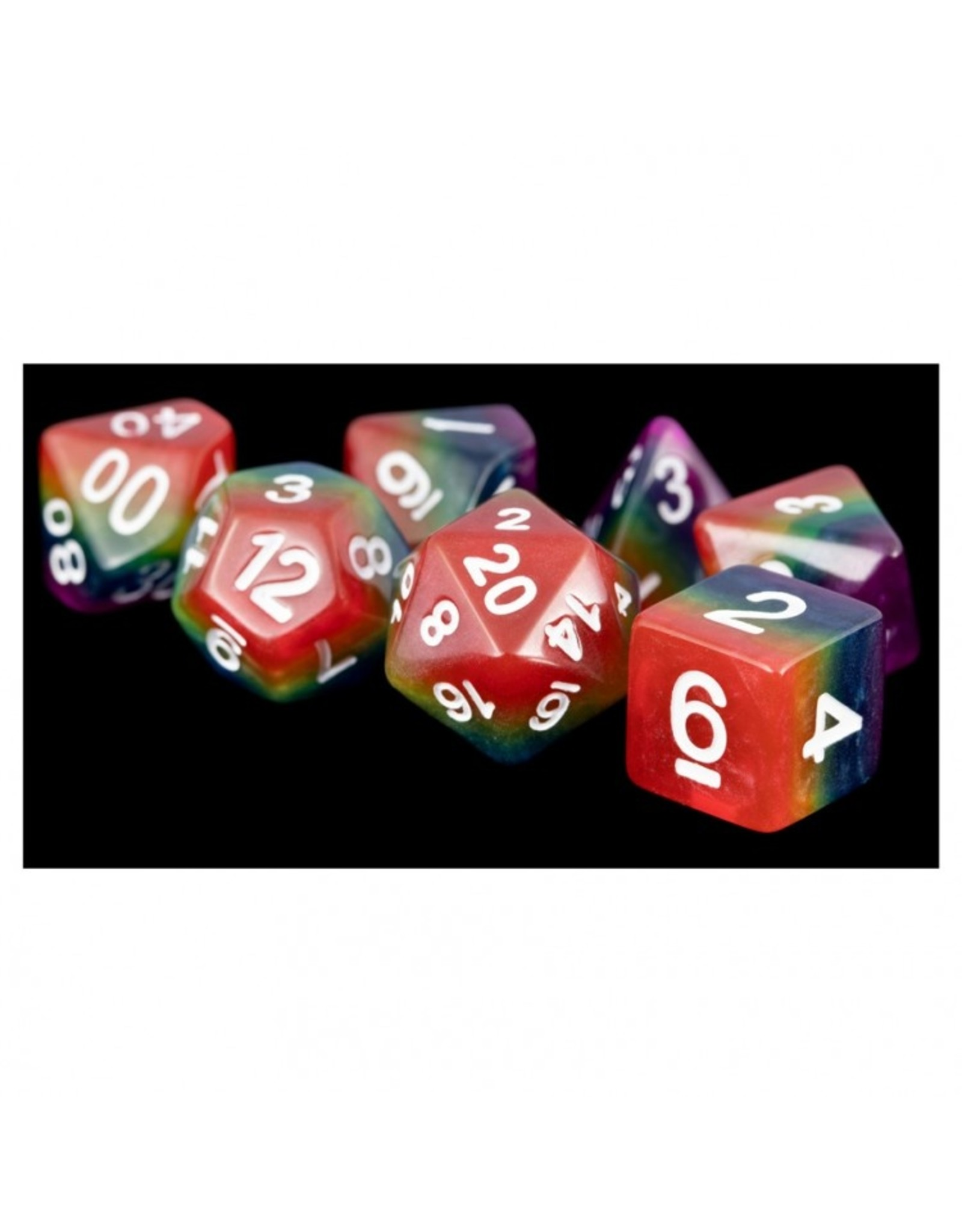 Dice 7-Set: 16mm: RBWwh