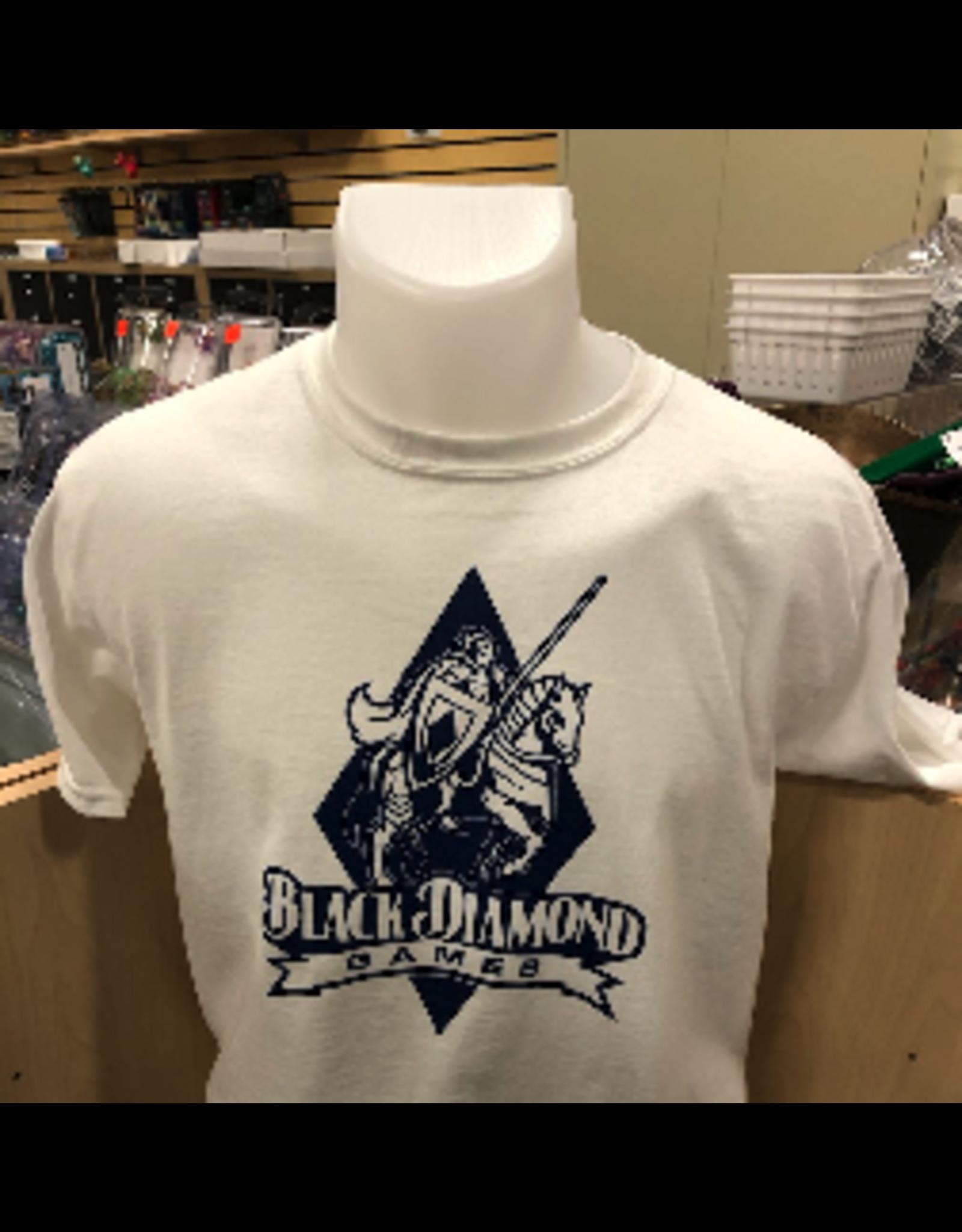 BDG Shirt : Youth Large - White Logo