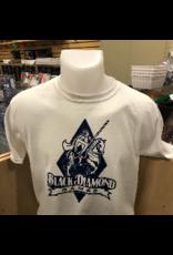 BDG Shirt : Youth Extra Large - White Logo