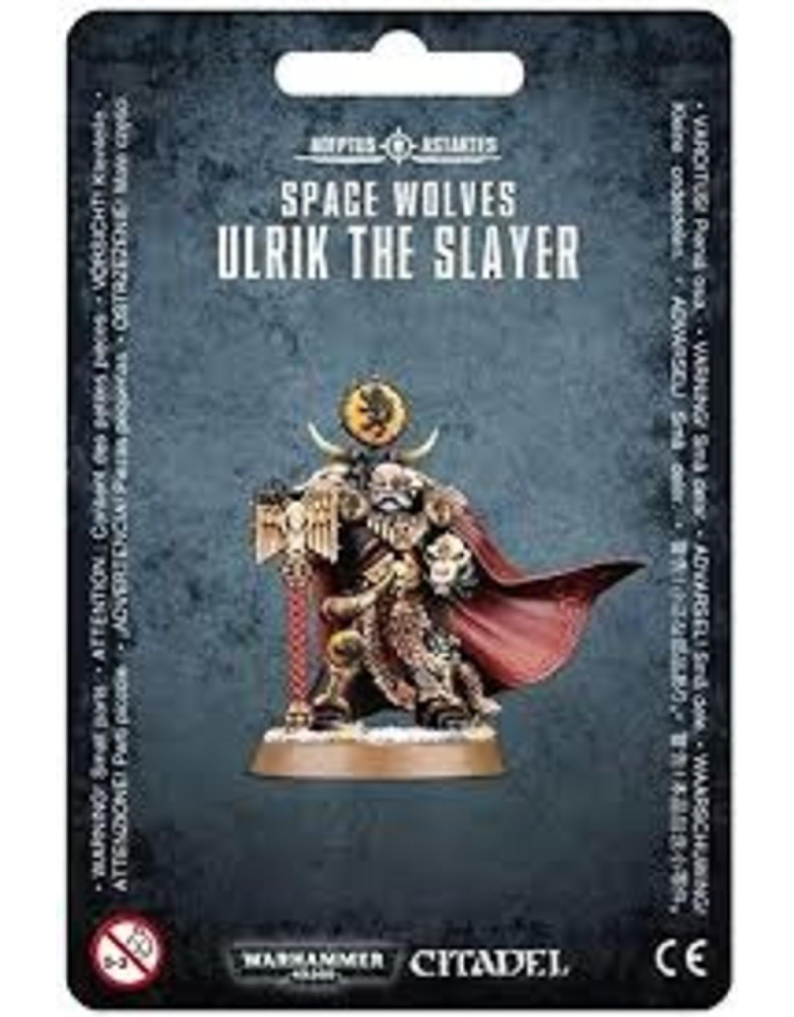 Warhammer 40K Space Wolves Ulrik the Slayer