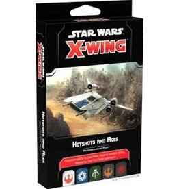 Atomic Mass Games Star Wars X-Wing: 2nd Edition - Hotshots and Aces Reinforcements Pack